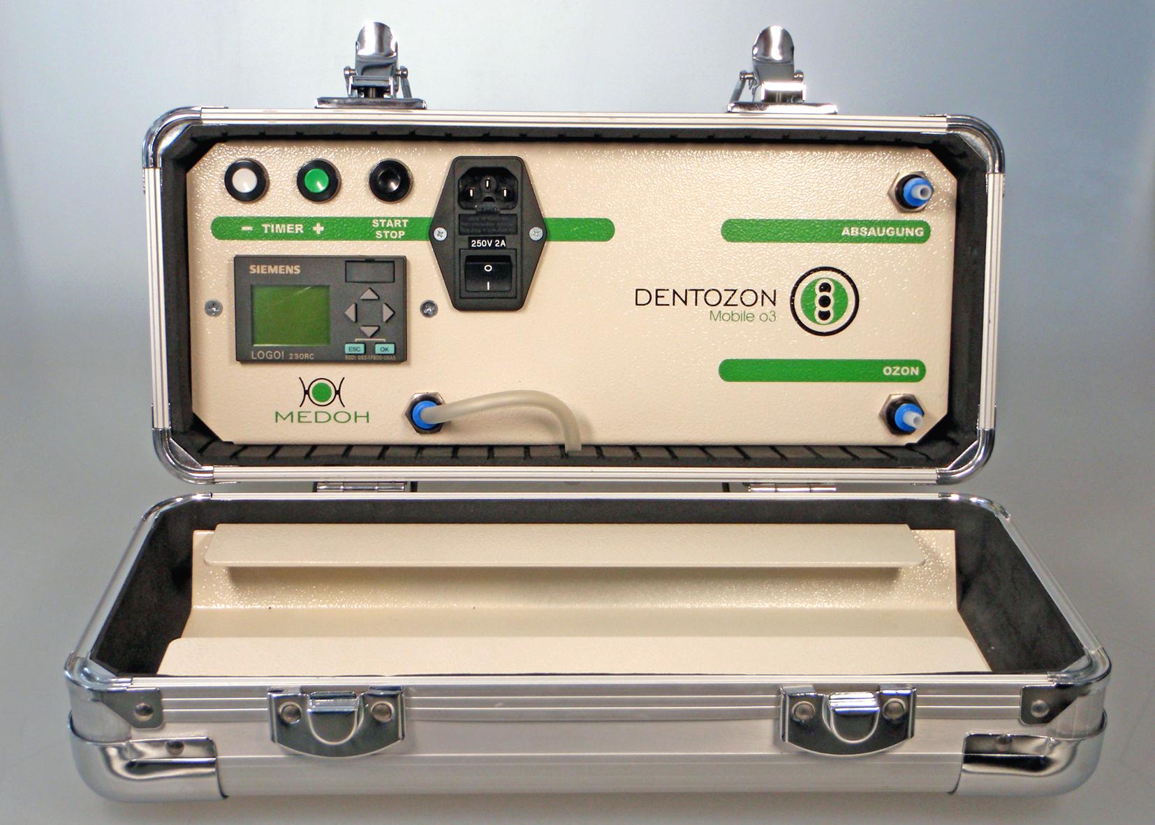 Dentozon mobile 03,Ozonanwendung in der Ozontherapie chitodent-vertrieb.de