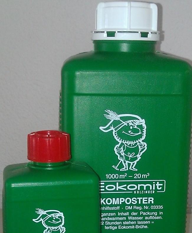 Bio-Eokomit contient des bactéries spécifiques pour compostage organique