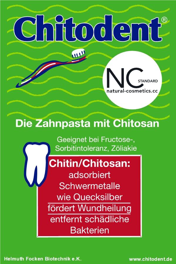 Zahnpasta mit Chitosan Chitodent