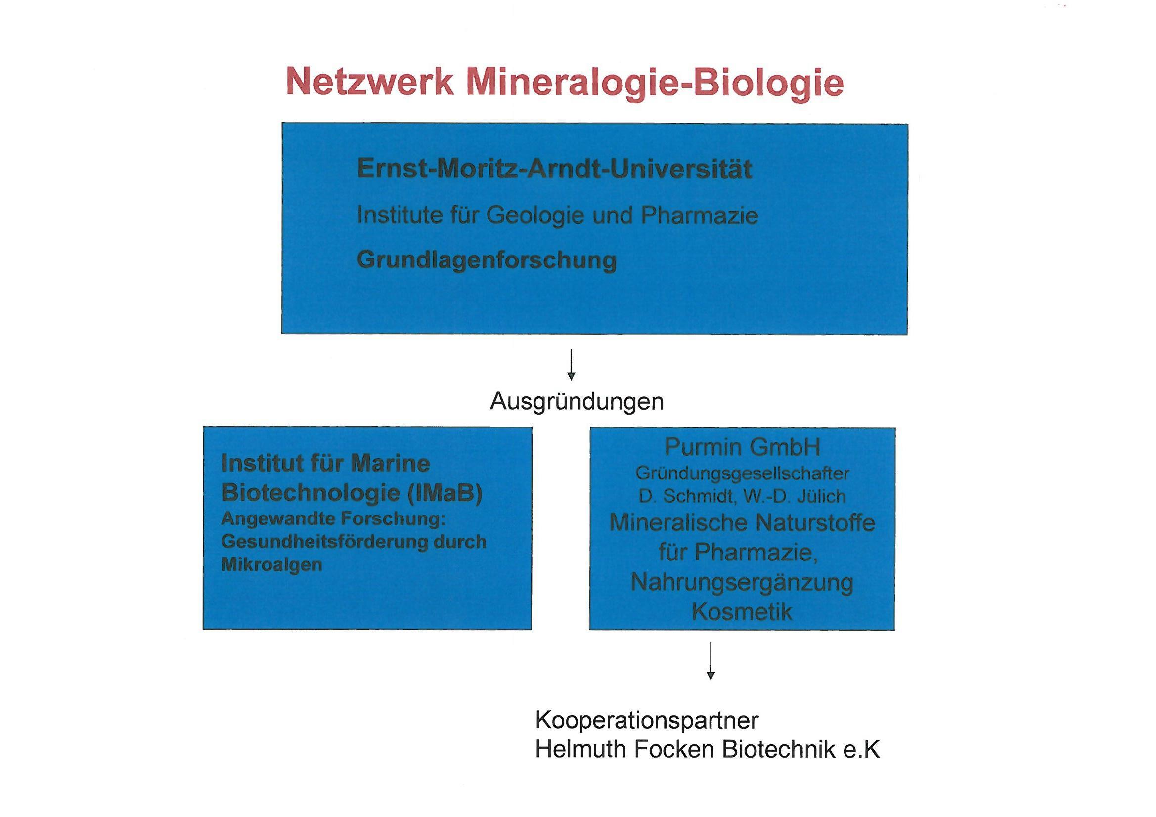 Das Netzwerk Mineralogie-Biologie-Biotechnik